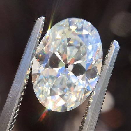 1.64ct Vintage Oval Cut Diamond GIA I VS1 (PRESALE PRICE: $9,900)