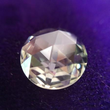 1.67ct Vintage Rose Cut Diamond, AGS H VS2