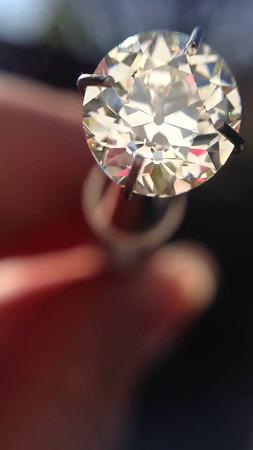 2.11ct Old European Cut Diamond, EGL -certified