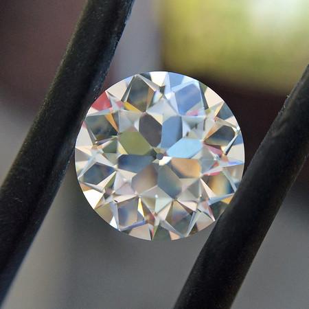2.19ct Old European Cut Diamond, GIA H SI1