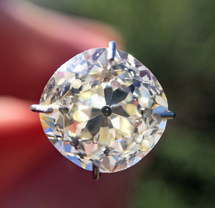 2.50ct Old Mine Cut Diamond OMC