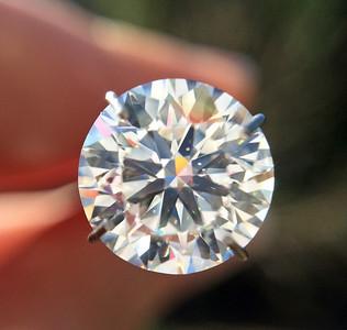 2.51ct Round Brilliant Cut Diamond GIA XXX G, SI1 RBC