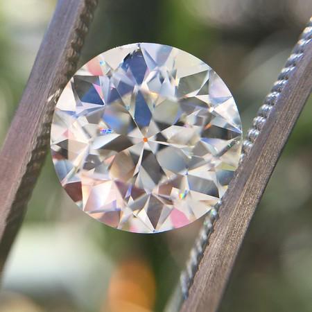 2.56ct Old European Cut Diamond, GIA J VVS2