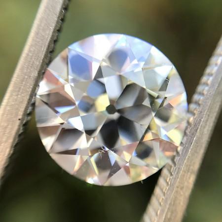 2.66ct Old European cut Diamond GIA J VS