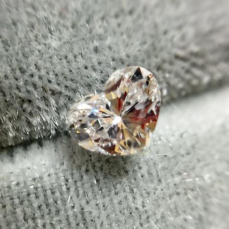 .45ct Heart Shaped (2) Diamond, EGL E VS2