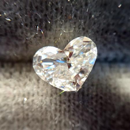 .45ct Heart Shaped Diamond (3), EGL G VS1