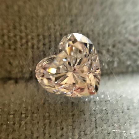.45ct Heart Shaped Diamond, EGL D VS2