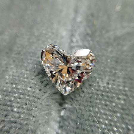 .47ct Heart Shaped Diamond, EGL H VS2