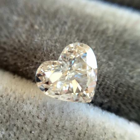 .52ct Heart Shaped Diamond, EGL H SI2