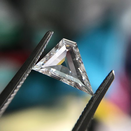 .64ct Geometric Portrait Cut Diamond