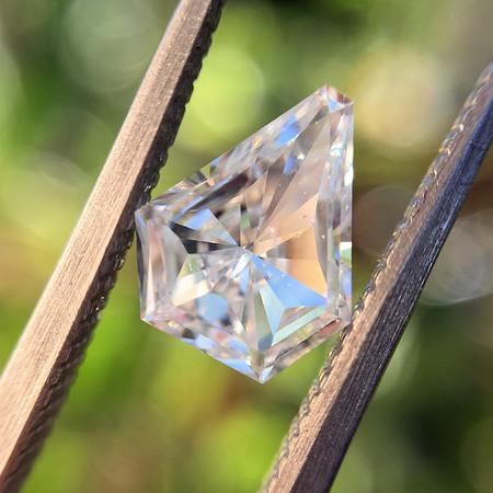 .71ct Shield Shaped Diamond, F VS2