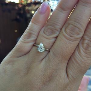 .80ct Pear Shape Diamond GIA J, VS2 PCD