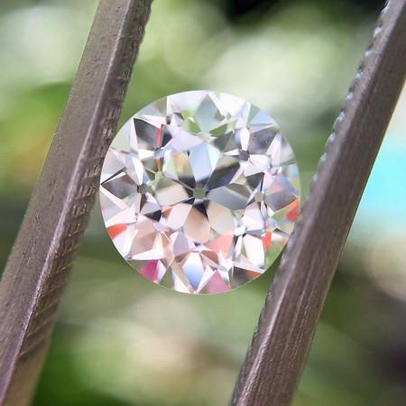 .99ct Old European Cut Diamond, GIA J VVS1