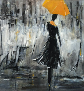 SOLD Le parapluie de Lisa