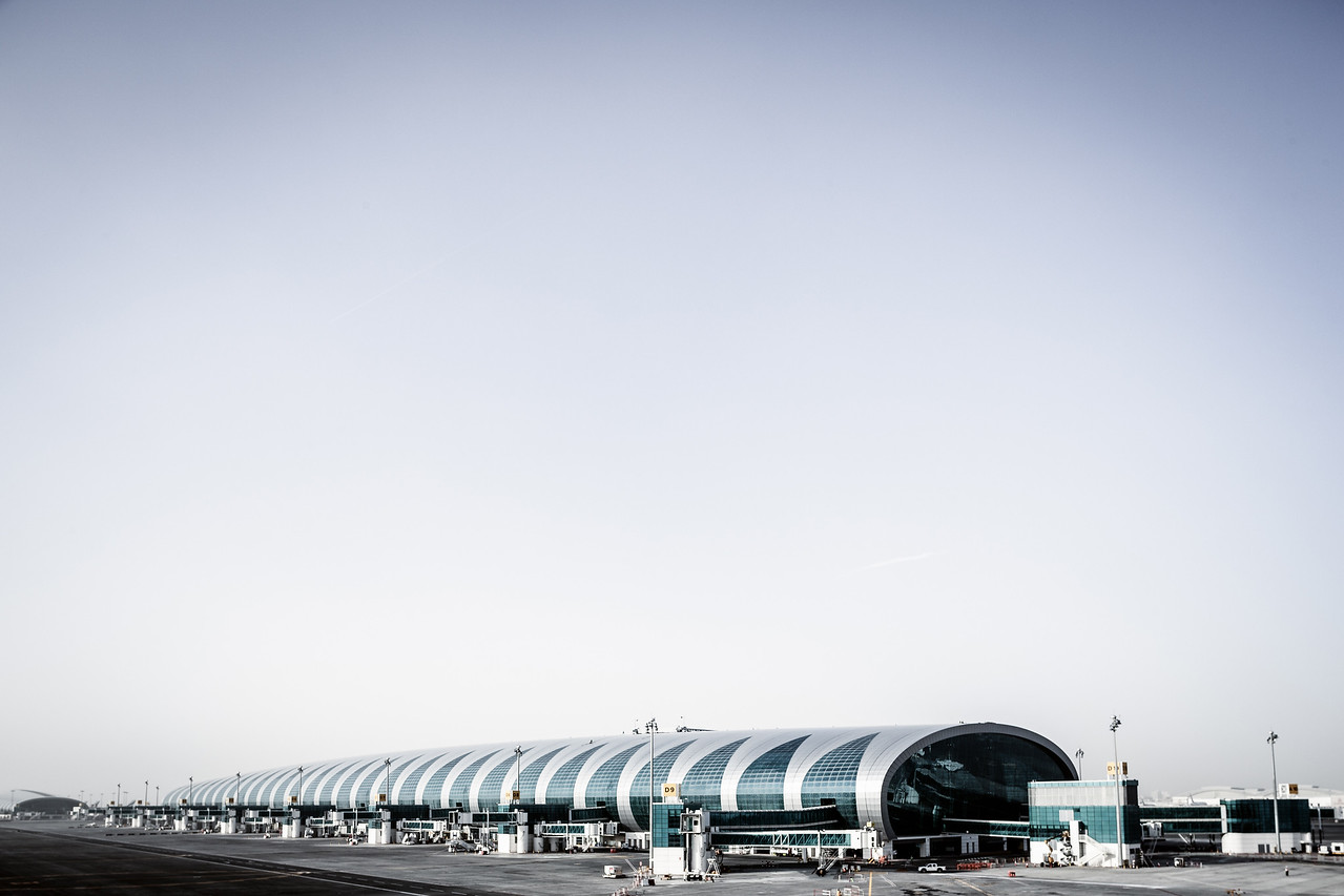 Dubai International Airport concourse 3. Commissioned by DAEP (Dubai International Engineering Processes)