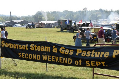 SOMERSET STEAM & GAS ENGINE 40 ANNIVERSARY PARTY