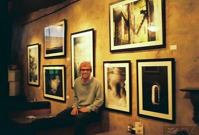 Mindful Developing photo show by Timothy Dunham @ Shillelaghs Restaurant. Long Beach, California.