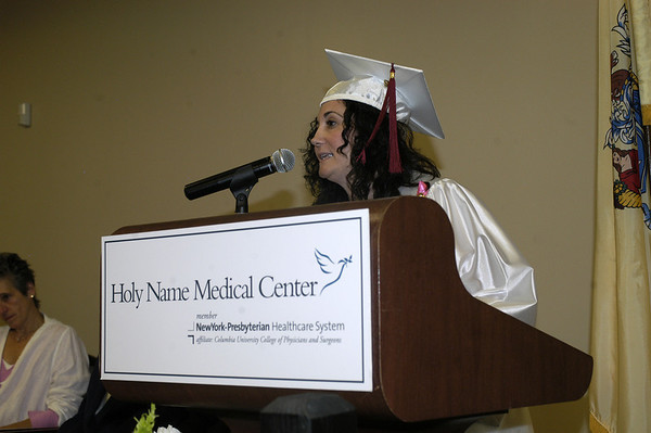 2012 School of Nursing RN commencement ceremony  at Holy Name Medical Center in Teaneck, NJ. 6/15/12  Photo by Mark Cap for Holy Name Medical Center