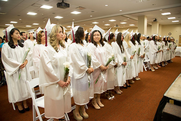 2014 School of Nursing Commencement Ceremony held at Holy Name Medical Center in Teaneck, NJ. 6/21/14 Photo by Victoria Matthews/Holy Name Medical Center