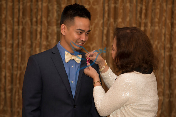 2014 Holy Name Medical Center School of Nursing RN pinning ceremony at the Florentine Gardens in Rivervale, NJ. <br /> 6/19/14  Photo by Jeff Rhode /Holy Name Medical Center