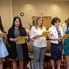 Holy Name Medical Center School of Nursing LPN Pinning Ceremony at Holy Name Medical Center in Teaneck, NJ on April 22, 2015. Photo by Victoria Matthews/Holy Name Medical Center
