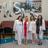 The Sister Claire Tynan School of Nursing class of 2020 gathered to take a class photo together in leu of a traditional ceremony. The COVID-19 Pandemic prevented graduation ceremonies and other social gatherings during this time. <br /> 06/12/2020  Photos by Jeff Rhode/Holy Name Medical Center.