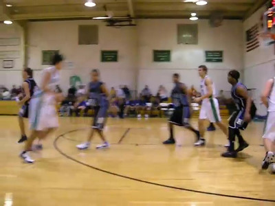 Good ball movement leads to an opener jumper by Mark Childers.