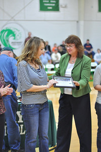 Certificate presented to Missy Edgemon Guettner by Cindy Rose Jones.