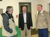 Russell Langley, Glenn Wheaton & Leonard Morris sharing stories