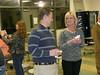 Jason Weaver & Paula Langley enjoying reception