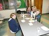 Jadyn, Blaze & April Raschke - Jay Karl Raschke family - Kim Walker - Bryan's wife - visiting and enjoying good food!