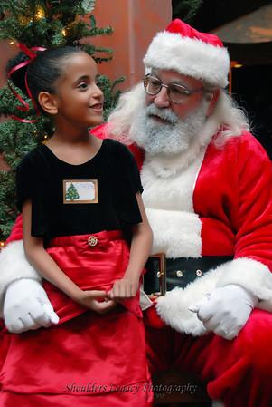 Children and Santa