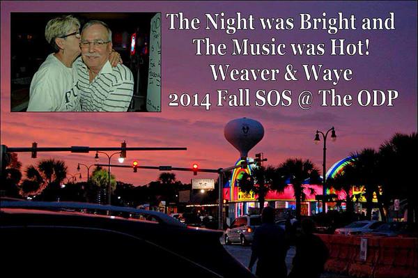 2014 Fall SOS - Weaver & Waye @ the ODP