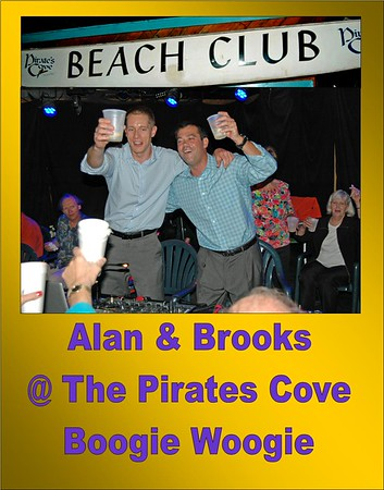 2015 Alan Stokes & Brokks Lee at the Pirates Cove