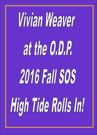 2016 Vivian Weaver at the ODP - High Tide - Fall SOS