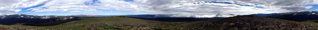 360 panoramic from Crown Benchmark summit