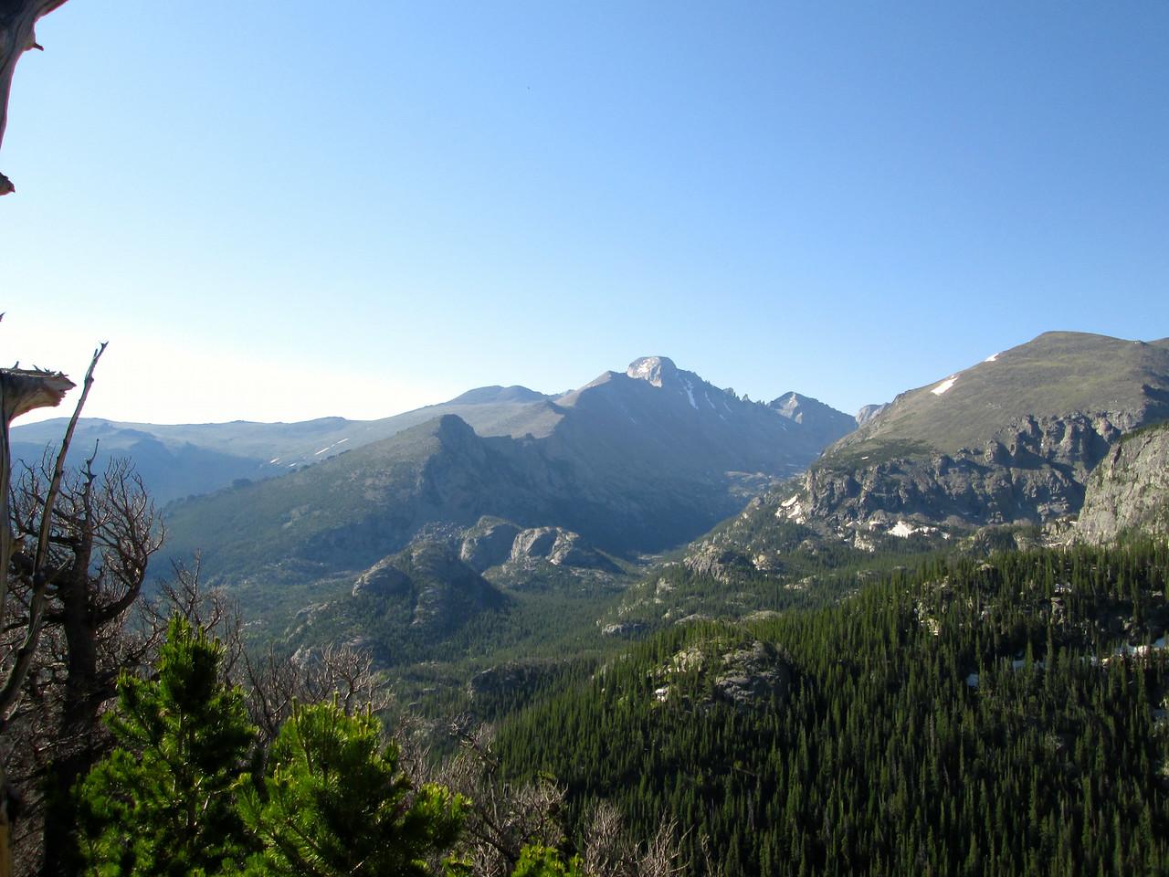 Long's Peak in Center Background