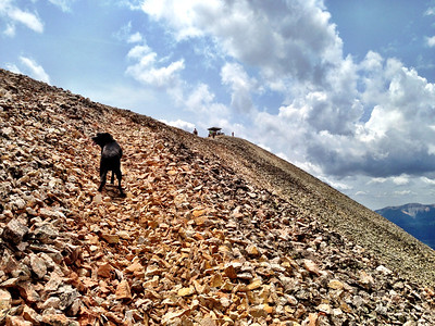 Working through the scree field