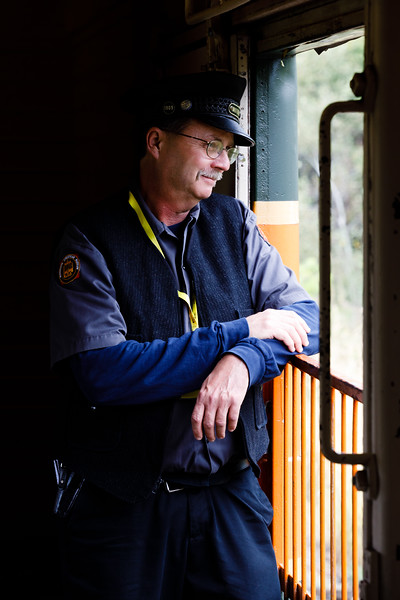 Conductor, Osceola & St. Croix Valley Railway