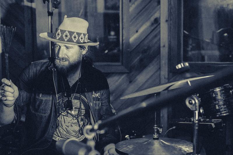Aaron Haynes with The Texas Gentlemen at Fame Studios in Muscle Shoals