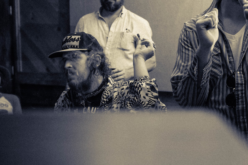 Dan Dyer and The Texas Gentlemen at Fame Studios in Muscle Shoals