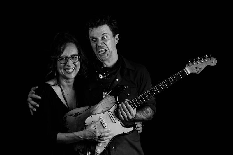 Lisa Rice and Eric Tessmer
