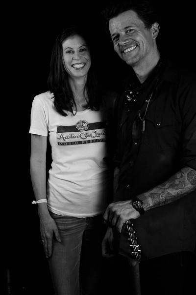 Loranda Stuart and Eric Tessmer