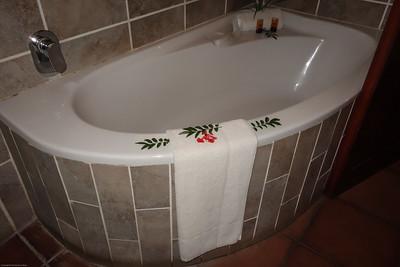 Idube Lodge Suite Bath