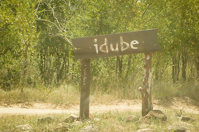 Idube Lodge Sign