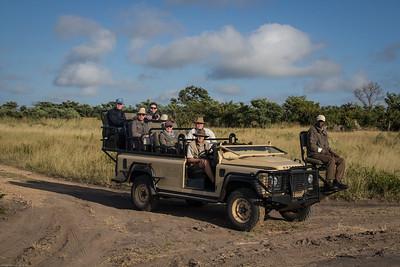 Other lodge's safari truck