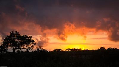 Sunrise at Idube