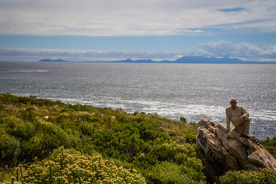 iew of Cape Point across False Bay