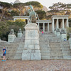 Monument to Cecil Rhodes.