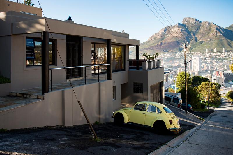 Cape residential neighborhood.